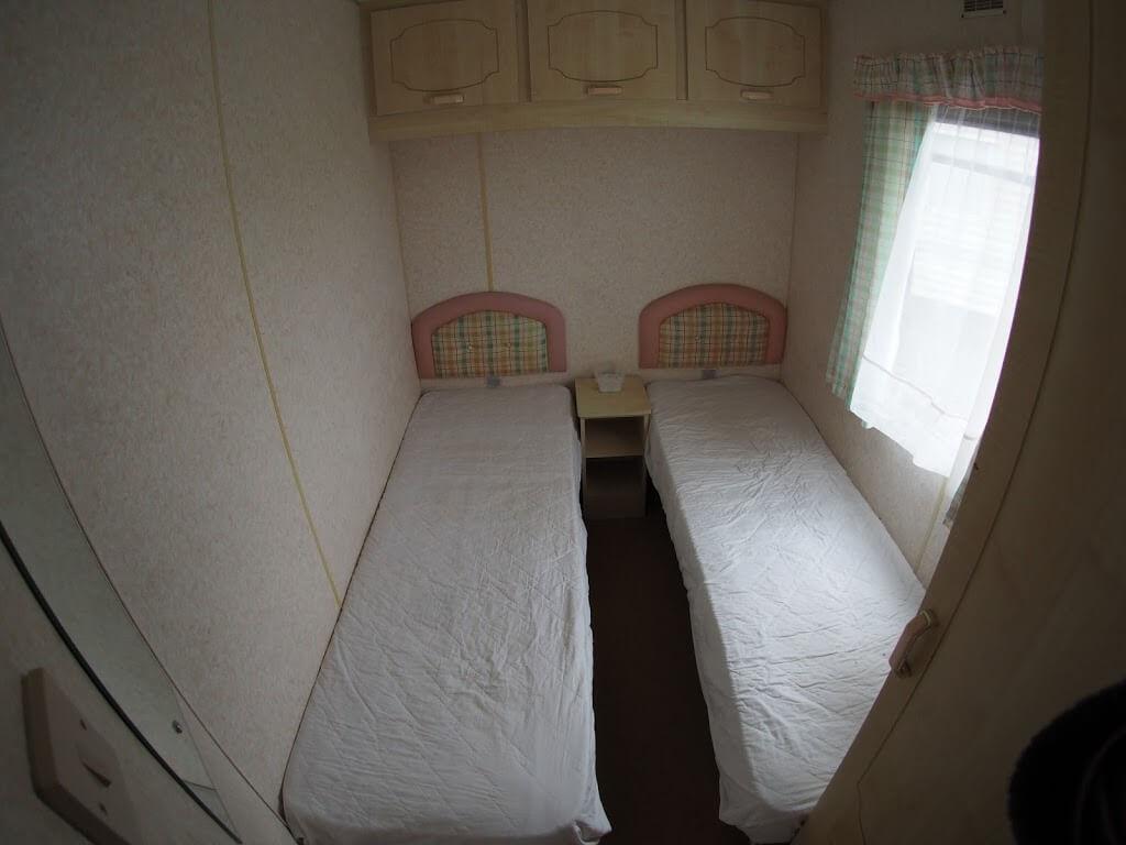 Static Caravan Bedroom YetYGors Fishguard